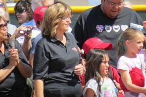 Town Council Member Marion Shontz.